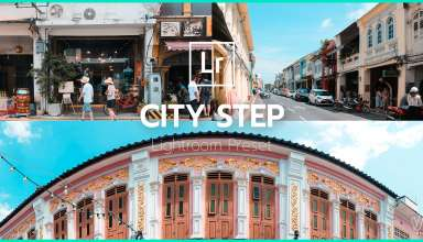 City Step Lightroom Preset